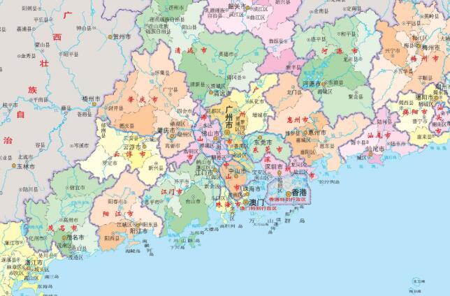 实用:广东省各地考试中心联系电话及地址